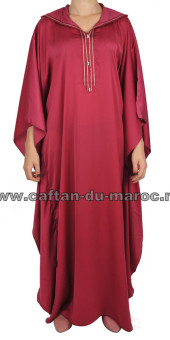 gandoura traditionnelle satin
