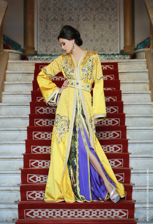 couture marocaine traditionnelle